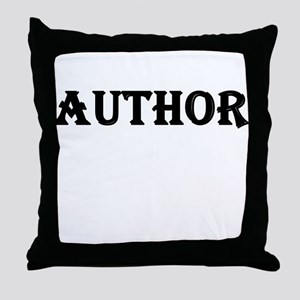 Author Throw Pillow