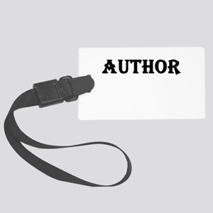 Author Large Luggage Tag