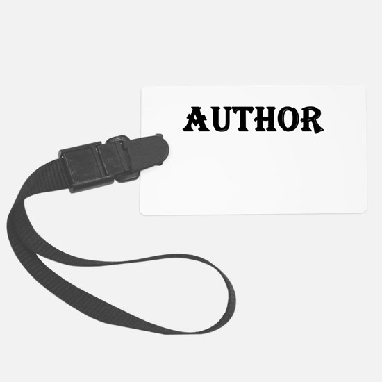 Author Luggage Tag