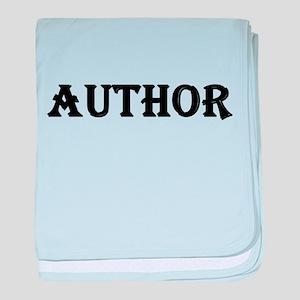 Author baby blanket