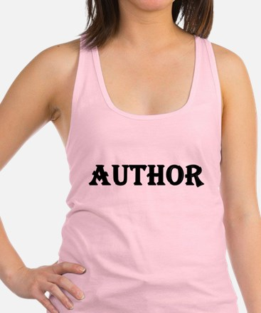 Author Racerback Tank Top