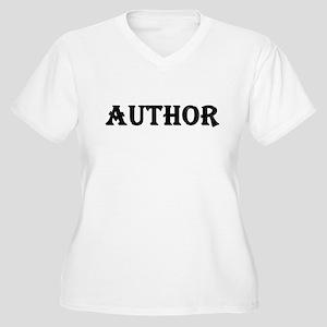 Author Women's Plus Size V-Neck T-Shirt
