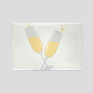 Champagne Rectangle Magnet