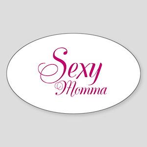 Sexy Momma Sticker (Oval)