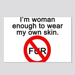 No to Fur Postcards (Package of 8)