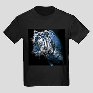 Night Tiger Kids Dark T-Shirt