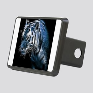 Night Tiger Rectangular Hitch Cover