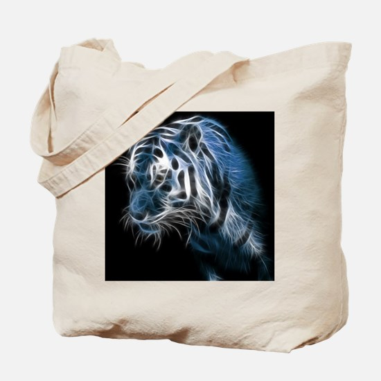 Night Tiger Tote Bag