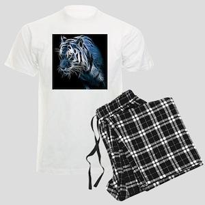 Night Tiger Men's Light Pajamas