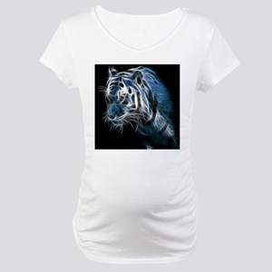 Night Tiger Maternity T-Shirt
