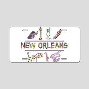 New OrleansThe Big Easy Aluminum License Plate