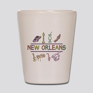 New OrleansThe Big Easy Shot Glass