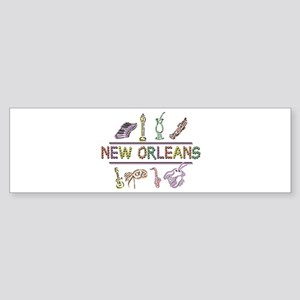 New Orleans Sticker (Bumper)