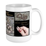Copperhead Whisperers Large Mug
