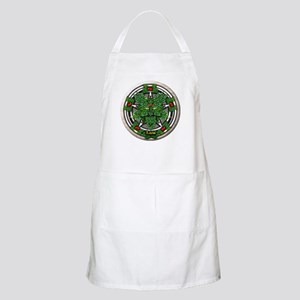 Rowan Celtic Greenman Pentacle Apron