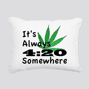 420 Rectangular Canvas Pillow
