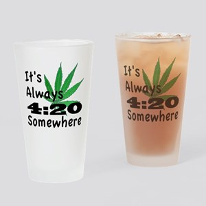 420 Drinking Glass