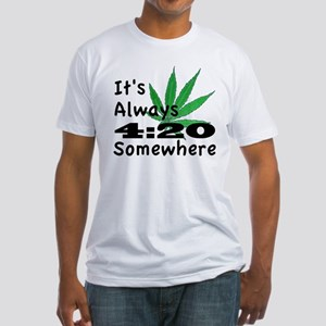420 Fitted T-Shirt