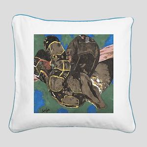 Boa Square Canvas Pillow