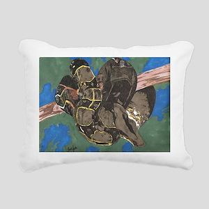 Boa Rectangular Canvas Pillow