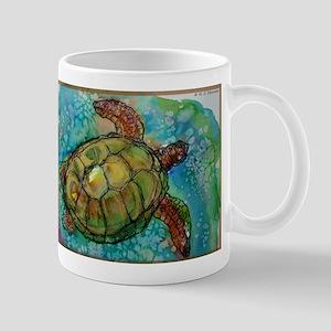 Sea turtle! Wildlife art! Mug