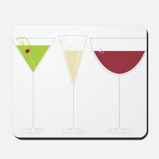 Drink Trio Mousepad