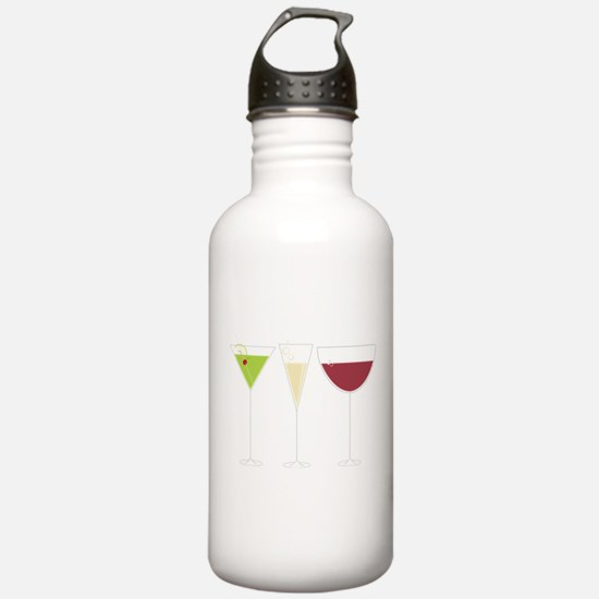 Drink Trio Sports Water Bottle