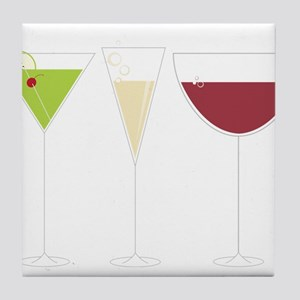 Drink Trio Tile Coaster