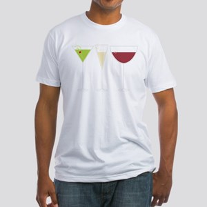 Drink Trio Fitted T-Shirt