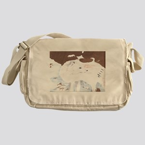 Arctic Fox- God's Creatures Messenger Bag