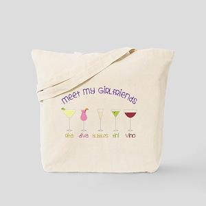 My Girlfriends Tote Bag