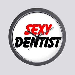 Sexy Dentist Wall Clock