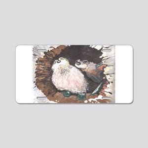 Otters- God's Creatures Aluminum License Plate