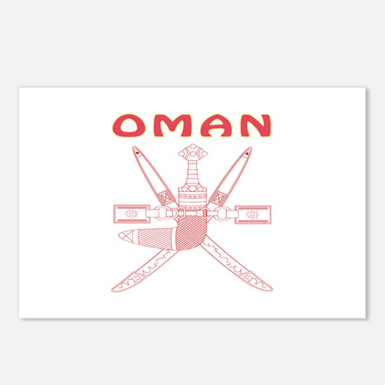 Oman Coat of arms Postcards (Package of 8)