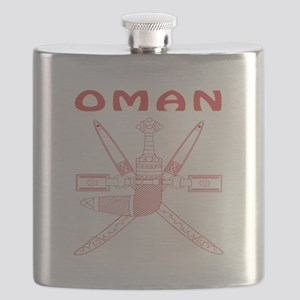 Oman Coat of arms Flask