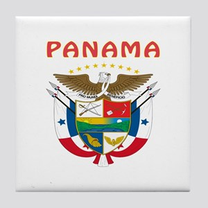 Panama Coat of arms Tile Coaster