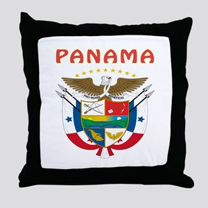 Panama Coat of arms Throw Pillow