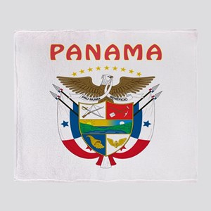 Panama Coat of arms Throw Blanket