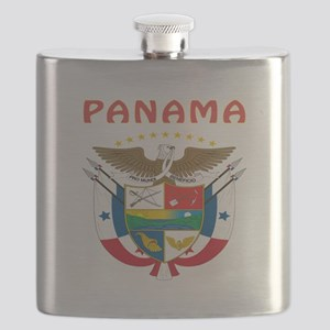 Panama Coat of arms Flask
