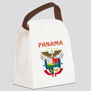 Panama Coat of arms Canvas Lunch Bag