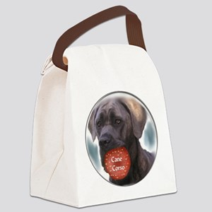Cane Corso Christmas Canvas Lunch Bag