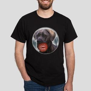 Cane Corso Christmas Dark T-Shirt