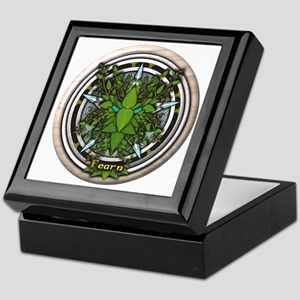Alder Celtic Greenman Pentacle Keepsake Box