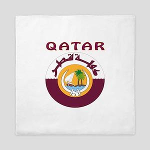 Qatar Coat of arms Queen Duvet