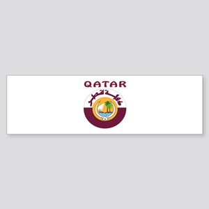 Qatar Coat of arms Sticker (Bumper)