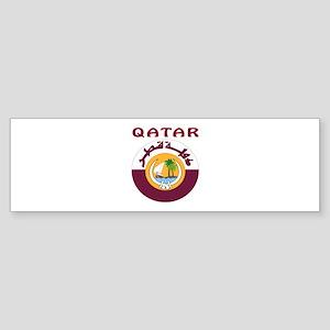 Qatar Coat of arms Sticker (Bumper)