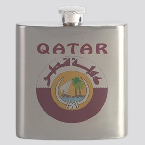 Qatar Coat of arms Flask