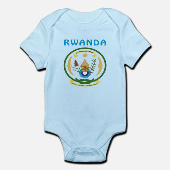 Rwanda Coat of arms Infant Bodysuit