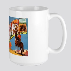 Canada Canadian Greetings Large Mug