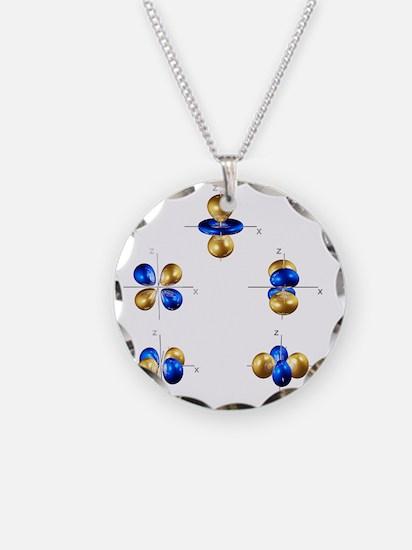 3d electron orbitals - Necklace